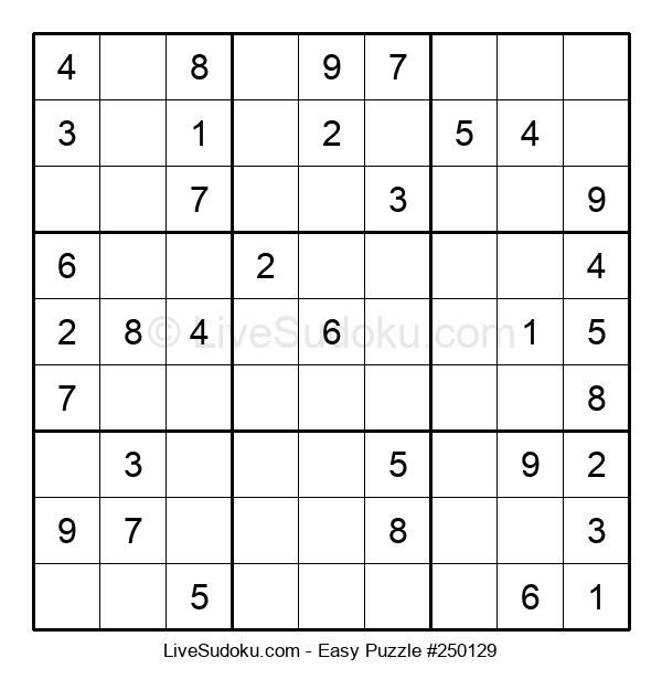 Beginners Puzzle #250129