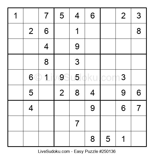 Beginners Puzzle #250136