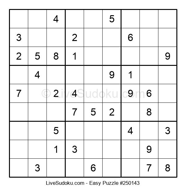 Beginners Puzzle #250143
