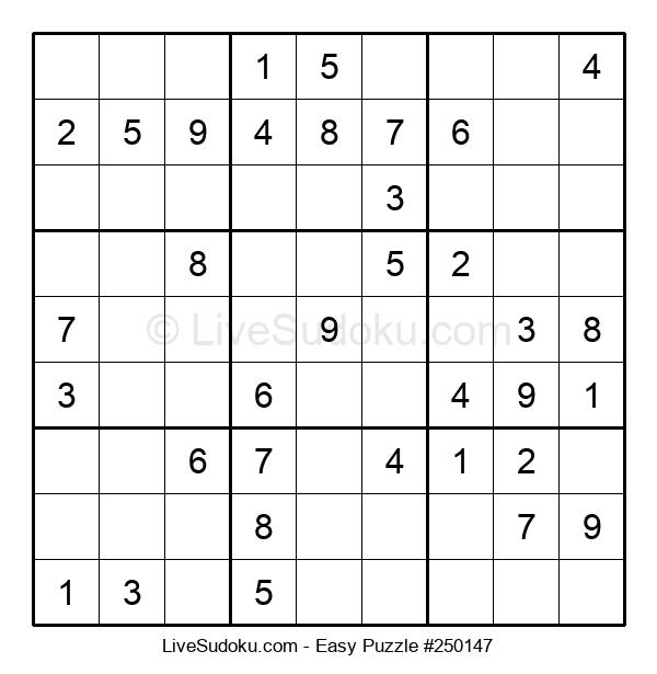 Beginners Puzzle #250147