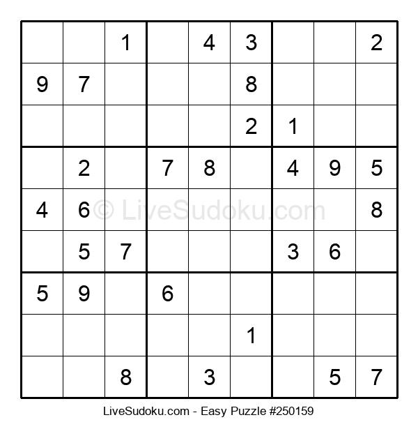 Beginners Puzzle #250159