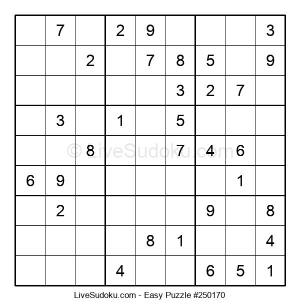 Beginners Puzzle #250170