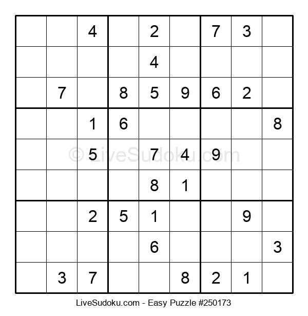 Beginners Puzzle #250173