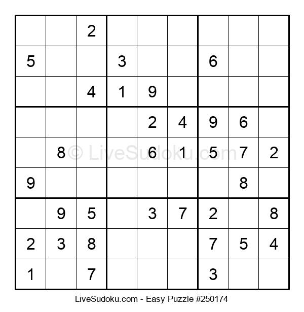 Beginners Puzzle #250174