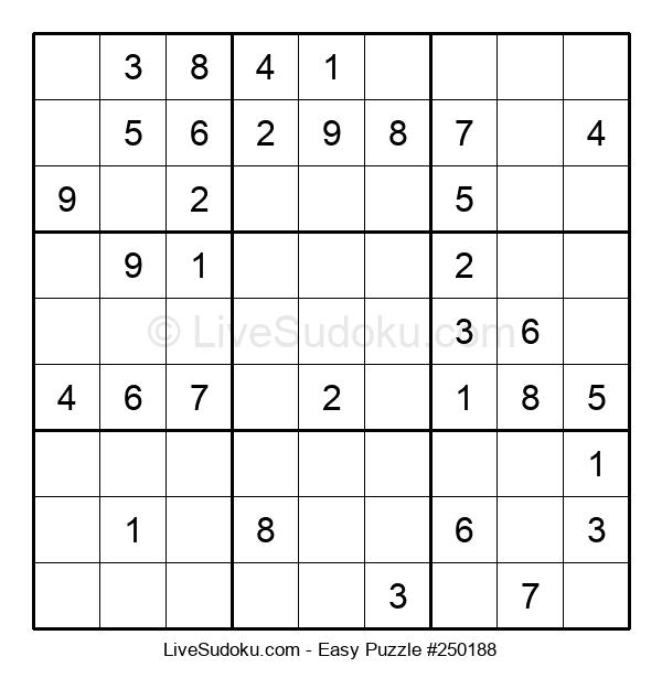 Beginners Puzzle #250188
