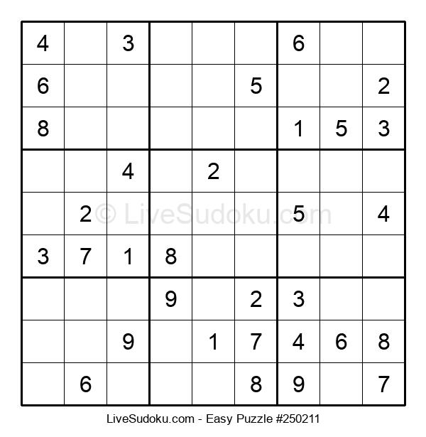 Beginners Puzzle #250211