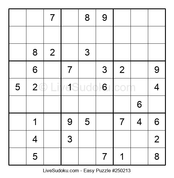 Beginners Puzzle #250213