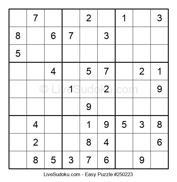 Beginners Puzzle #250223