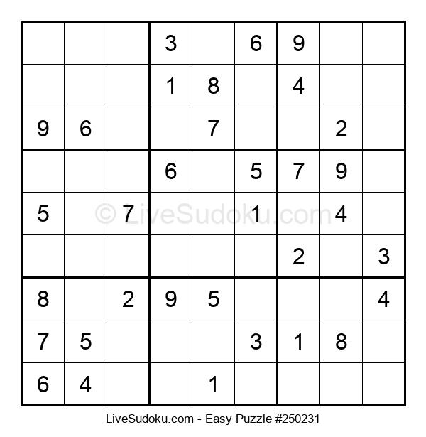 Beginners Puzzle #250231