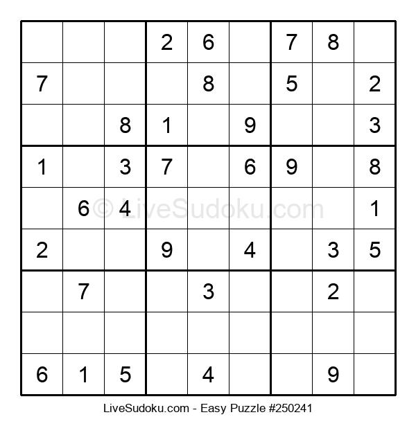 Beginners Puzzle #250241
