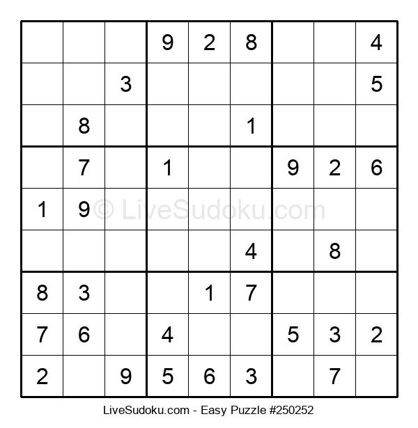 Beginners Puzzle #250252