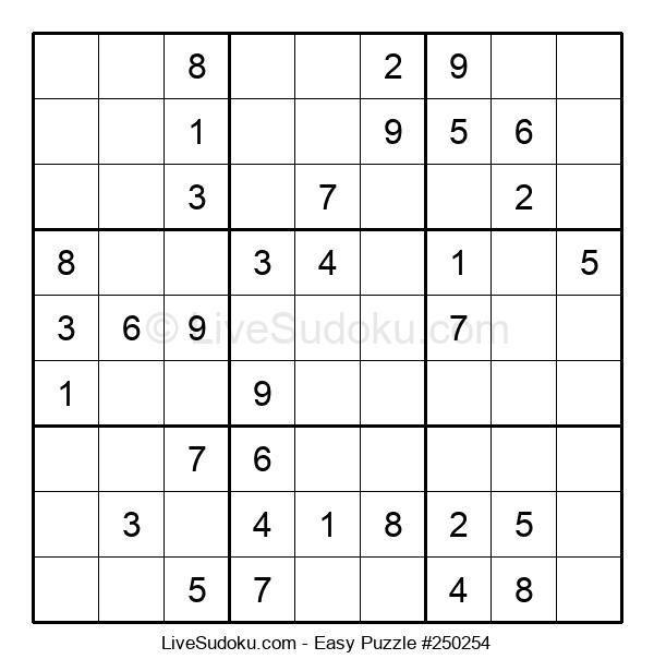 Beginners Puzzle #250254