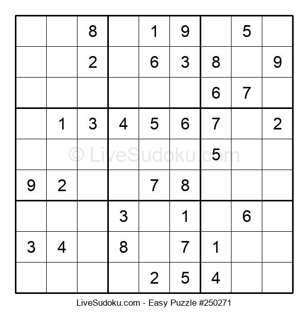 Beginners Puzzle #250271