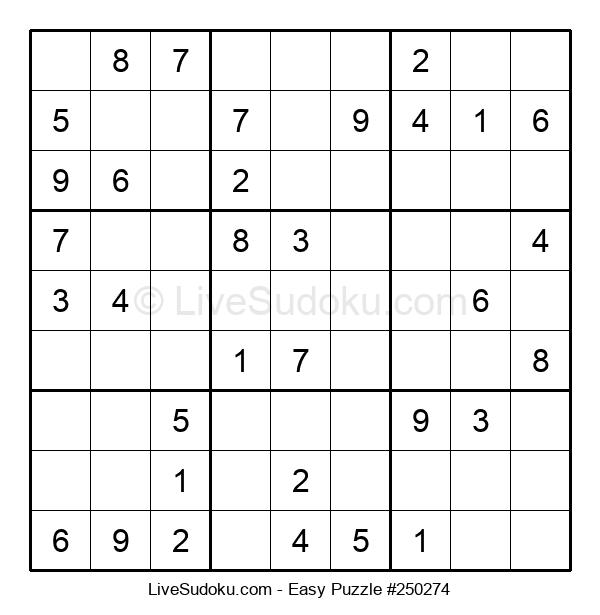 Beginners Puzzle #250274