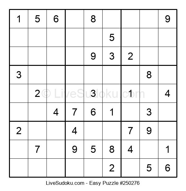 Beginners Puzzle #250276