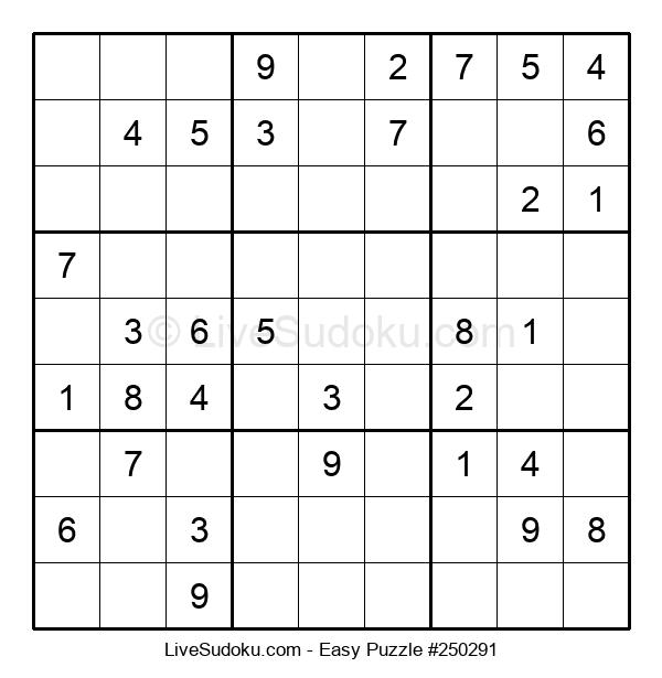 Beginners Puzzle #250291