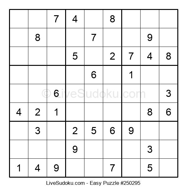 Beginners Puzzle #250295