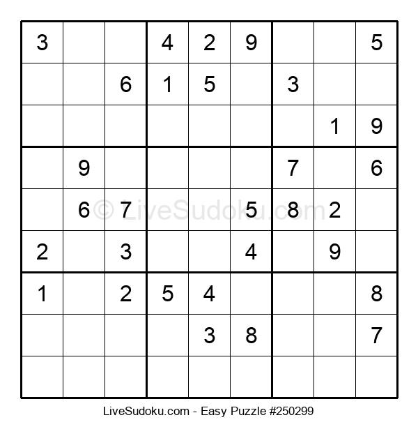 Beginners Puzzle #250299
