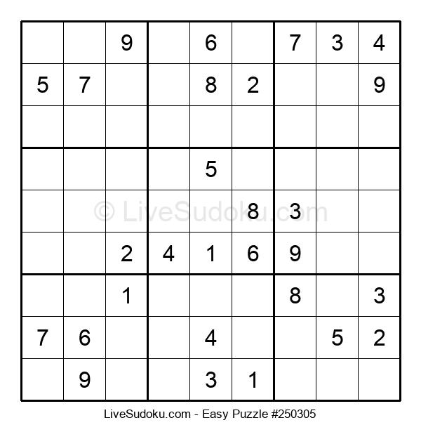 Beginners Puzzle #250305