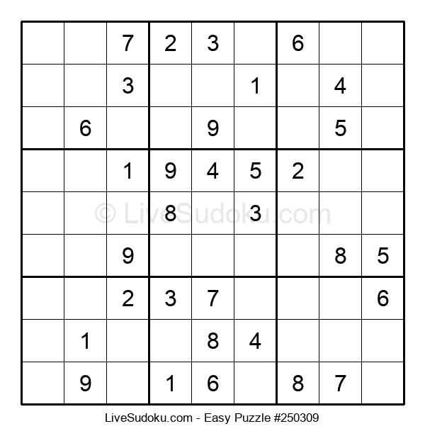 Beginners Puzzle #250309