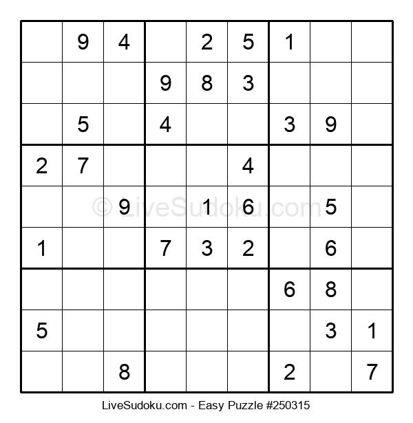 Beginners Puzzle #250315