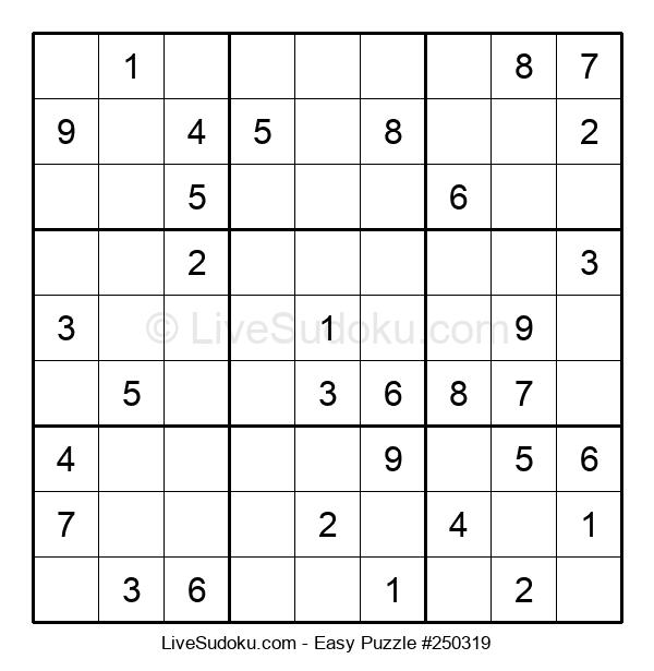 Beginners Puzzle #250319