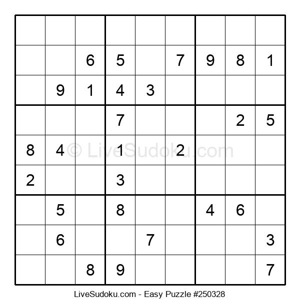 Beginners Puzzle #250328