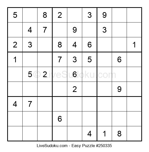 Beginners Puzzle #250335