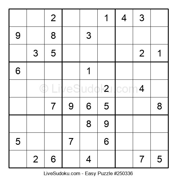 Beginners Puzzle #250336