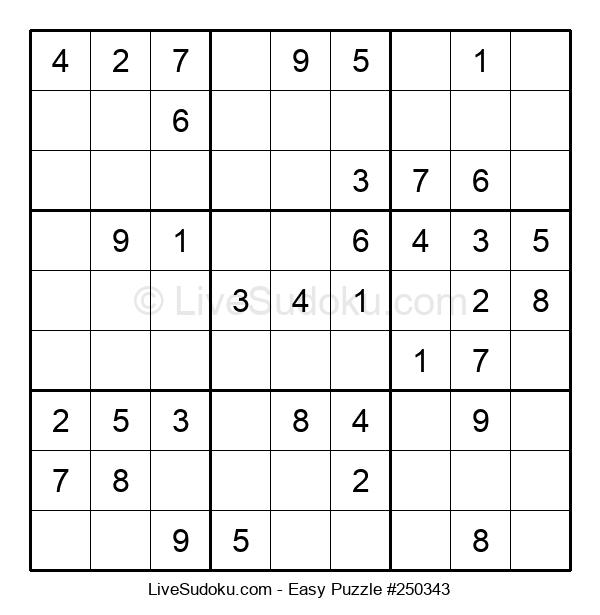 Beginners Puzzle #250343