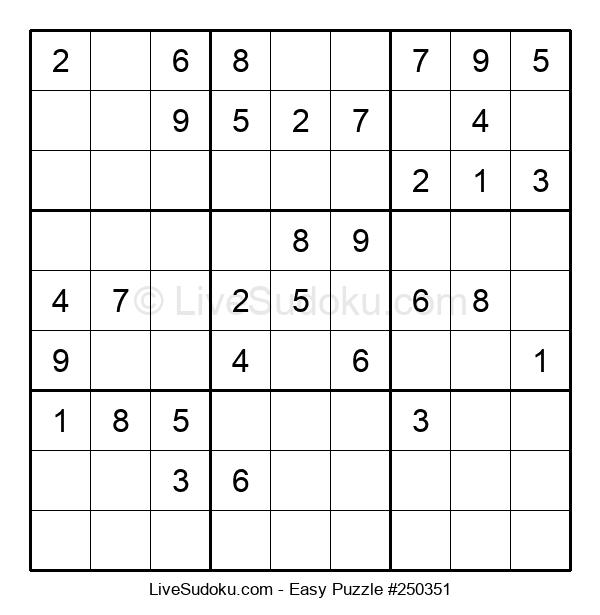 Beginners Puzzle #250351