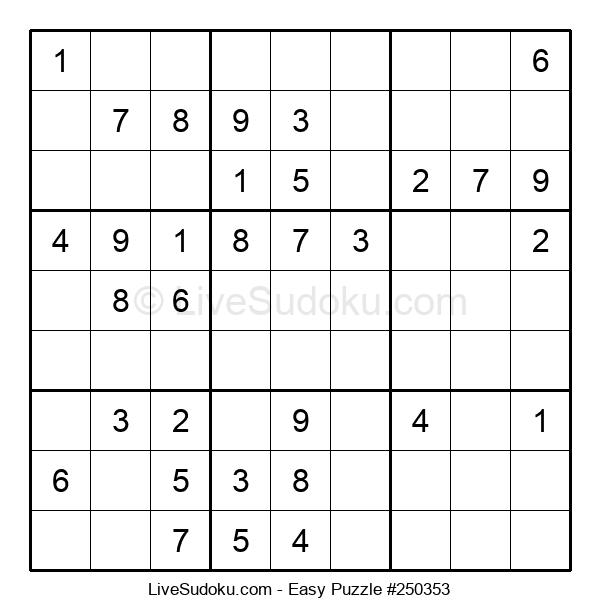 Beginners Puzzle #250353