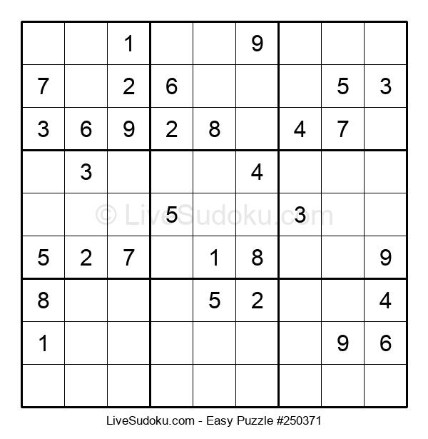 Beginners Puzzle #250371