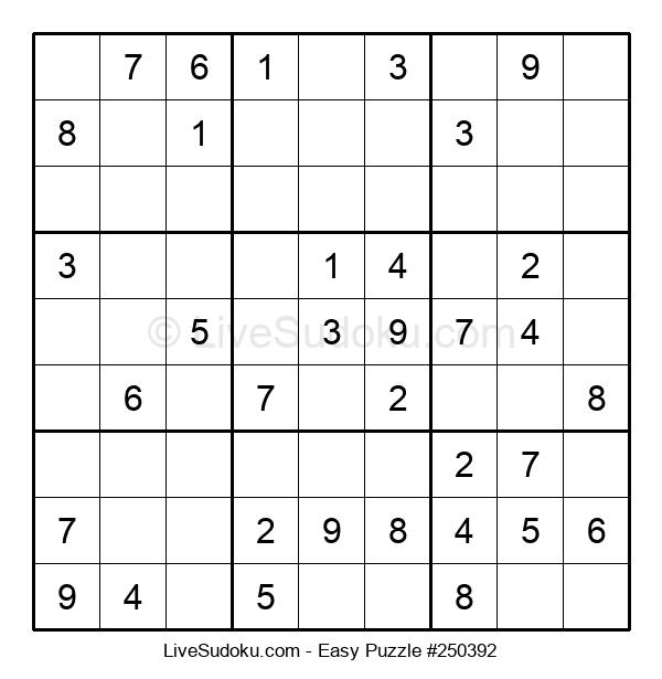 Beginners Puzzle #250392
