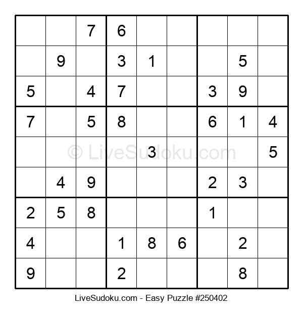 Beginners Puzzle #250402