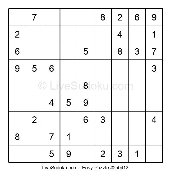 Beginners Puzzle #250412