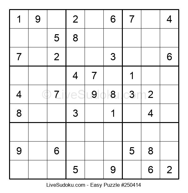 Beginners Puzzle #250414