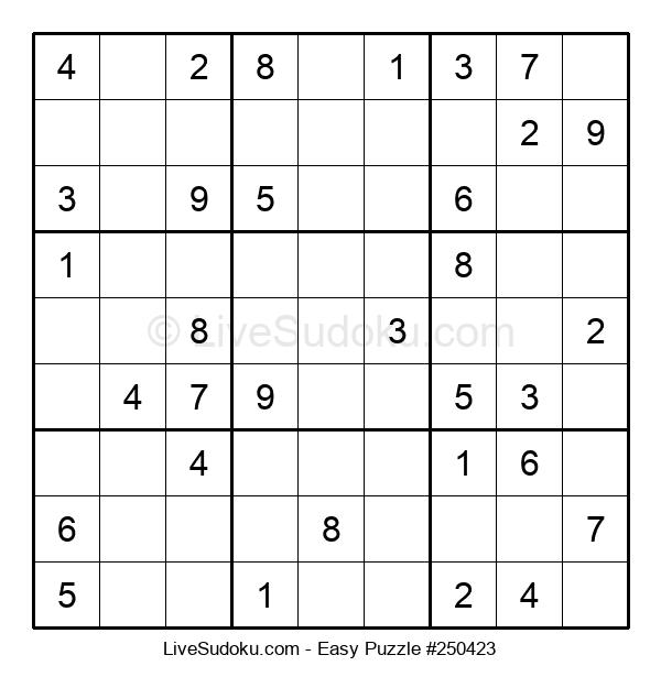 Beginners Puzzle #250423