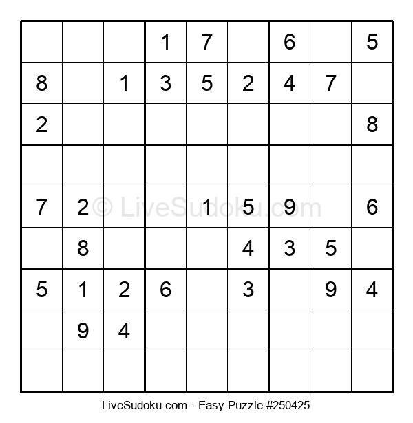 Beginners Puzzle #250425