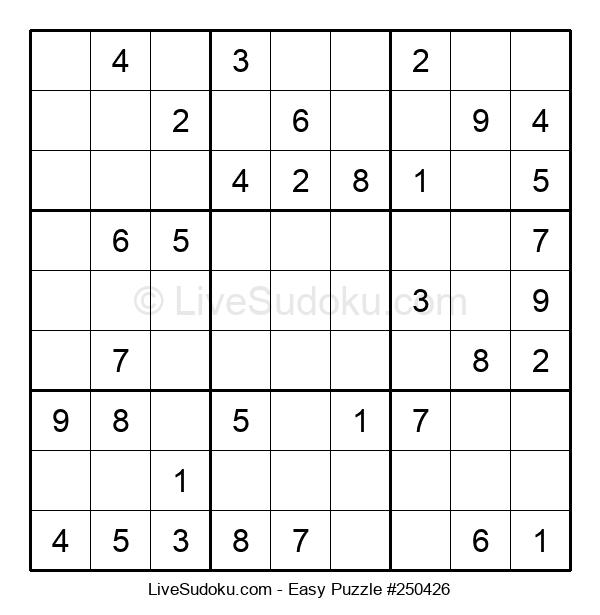 Beginners Puzzle #250426