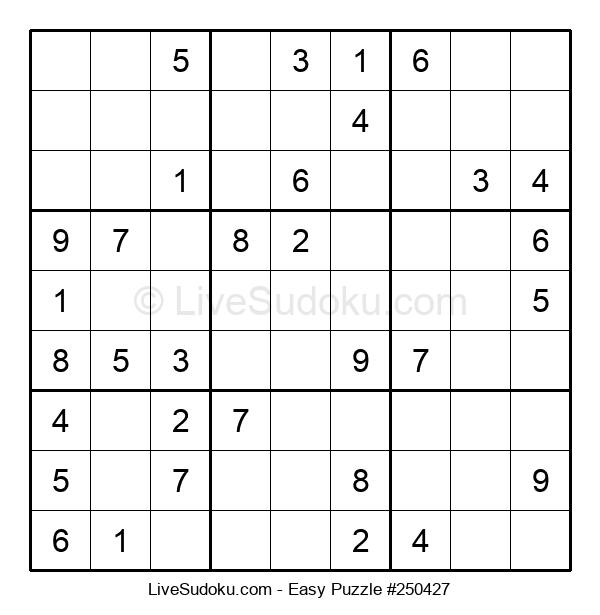 Beginners Puzzle #250427
