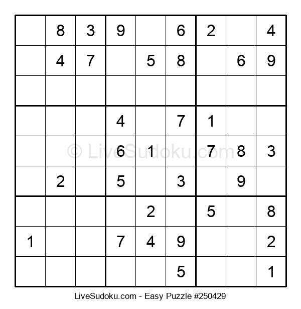 Beginners Puzzle #250429