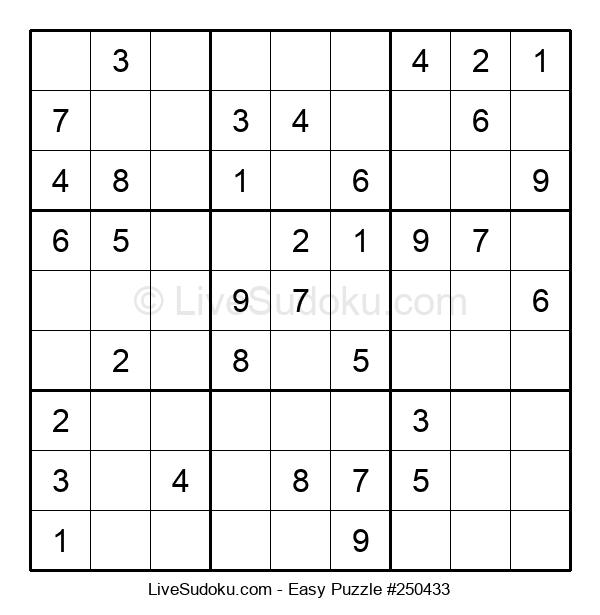 Beginners Puzzle #250433