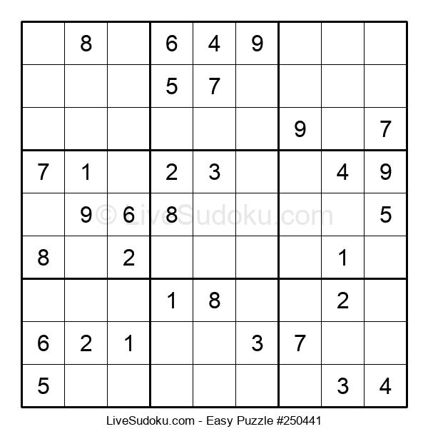 Beginners Puzzle #250441