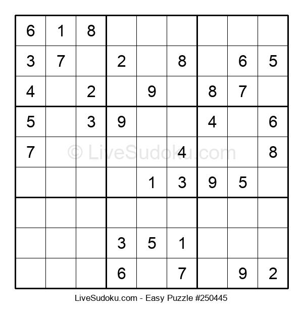 Beginners Puzzle #250445