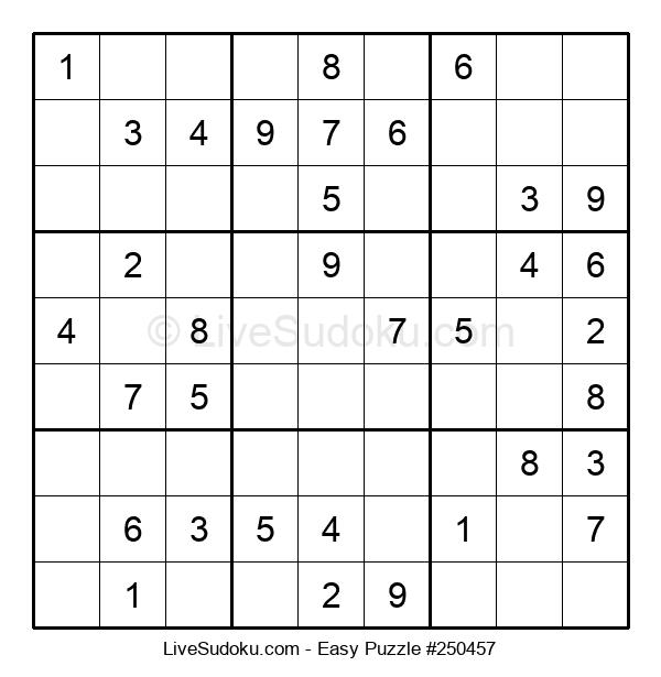 Beginners Puzzle #250457