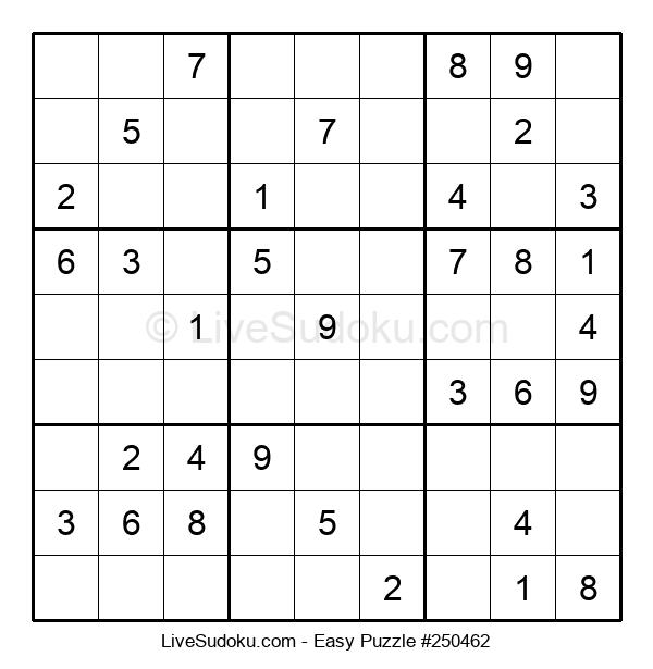 Beginners Puzzle #250462