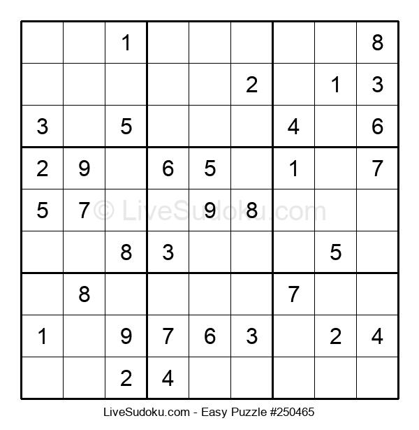 Beginners Puzzle #250465