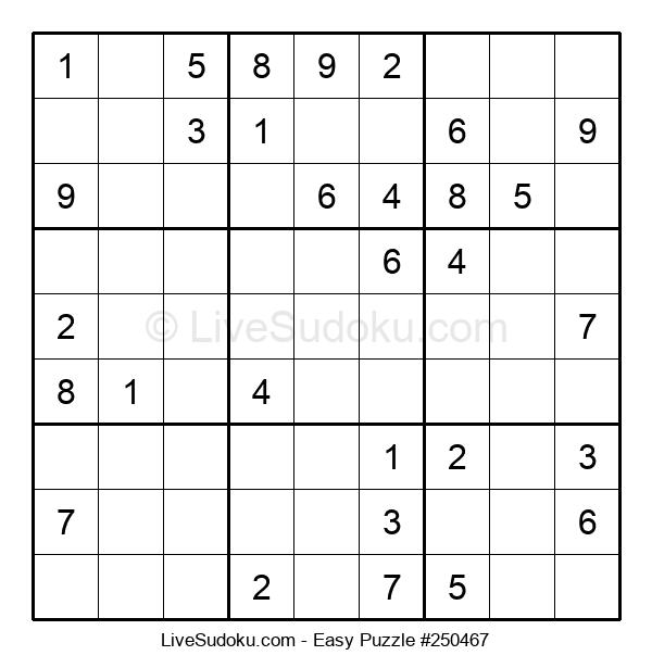Beginners Puzzle #250467