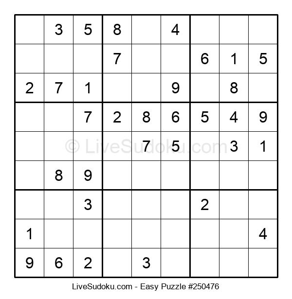 Beginners Puzzle #250476